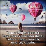 Dreams don't expire (Blog)
